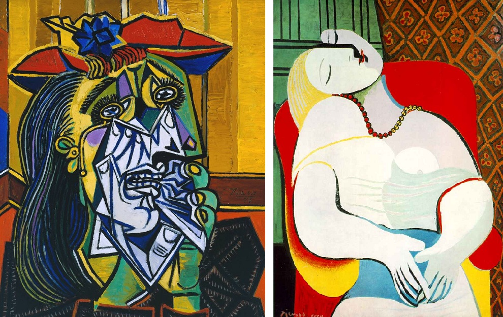 an analysis of the painting works and influence of pablo picasso The work is considered in terms of the erotic in picasso's art, and critics in different periods have offered their assessments of the work to show a wide range of reactions the young girl was named marie therese walter and was painted multiple times during the 1930's by picasso.