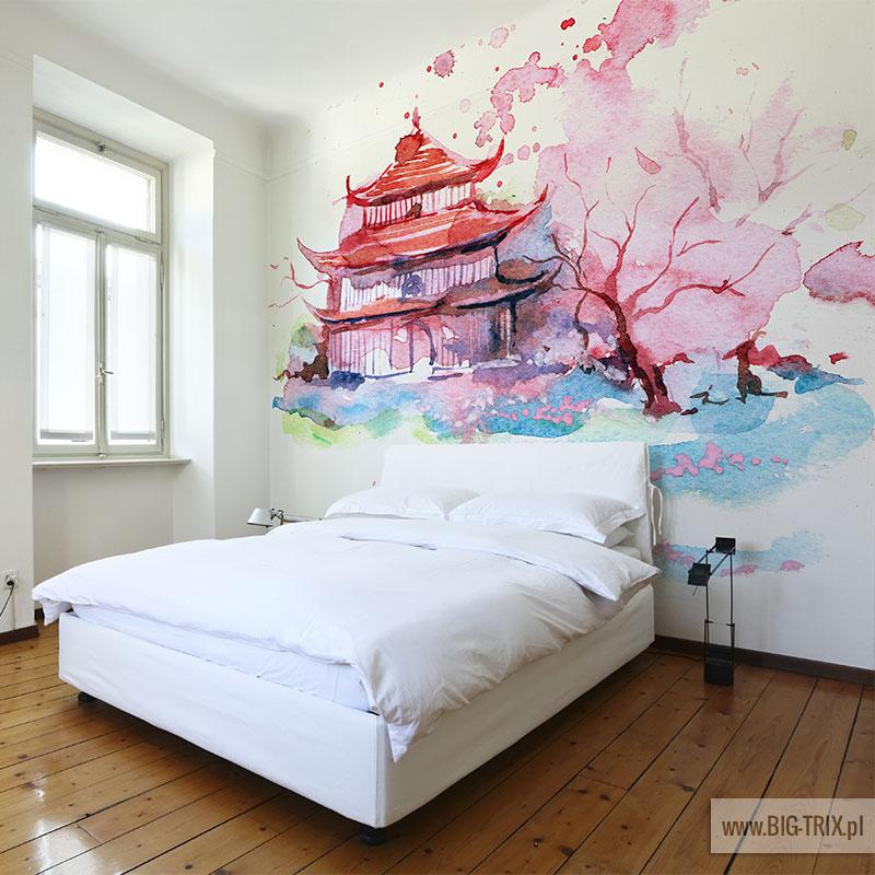 fototapety artystyczne akwarele kolekcja akwarelove. Black Bedroom Furniture Sets. Home Design Ideas