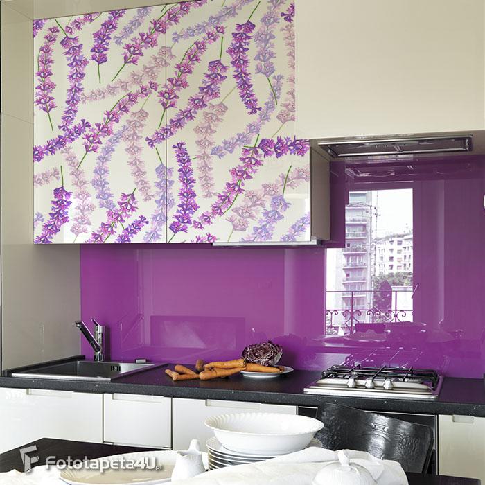 Fototapeta Lavender seamless pattern