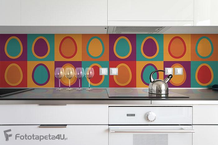 Fototapeta Seamless easter pattern