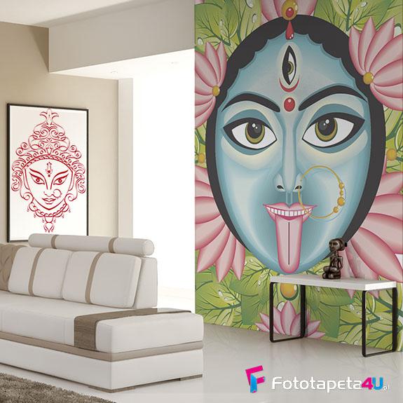 Fototapeta w salonie Indyjska bogini Kali