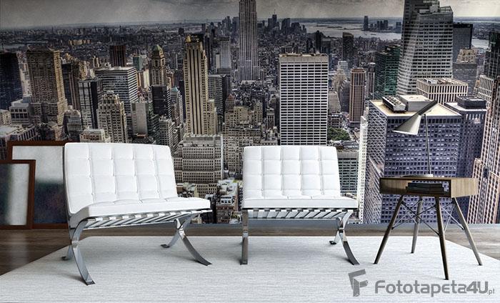 Fototapeta winylowa ścienna Nowy Jork Panorama