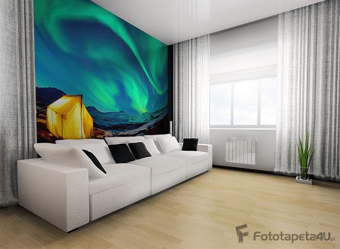 Fototapeta zorza polarna