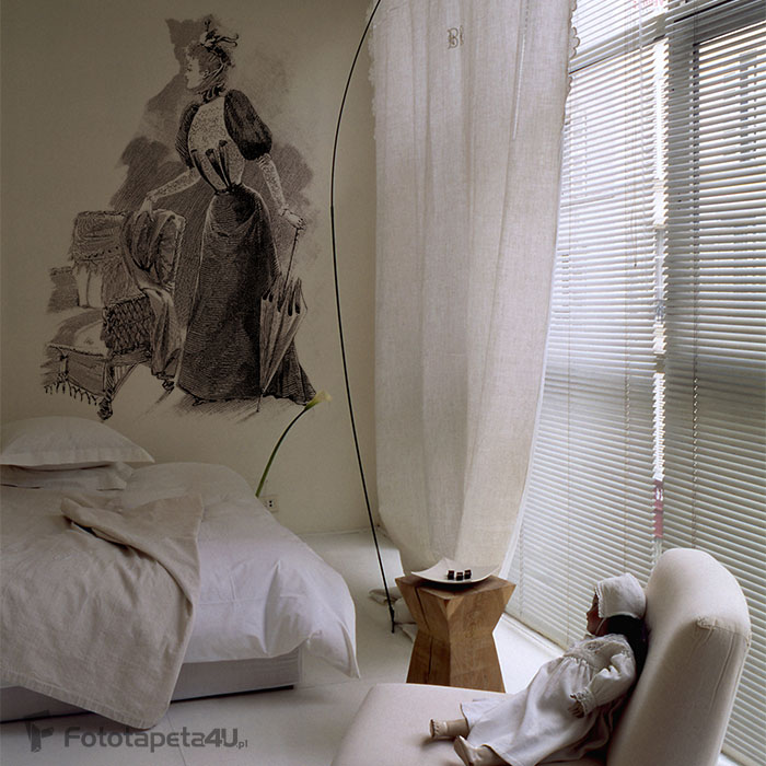 Fototapeta Parisian Mode-Fashion Paris - 19th century