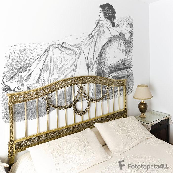 Fototapeta Romantic Woman - 19th century