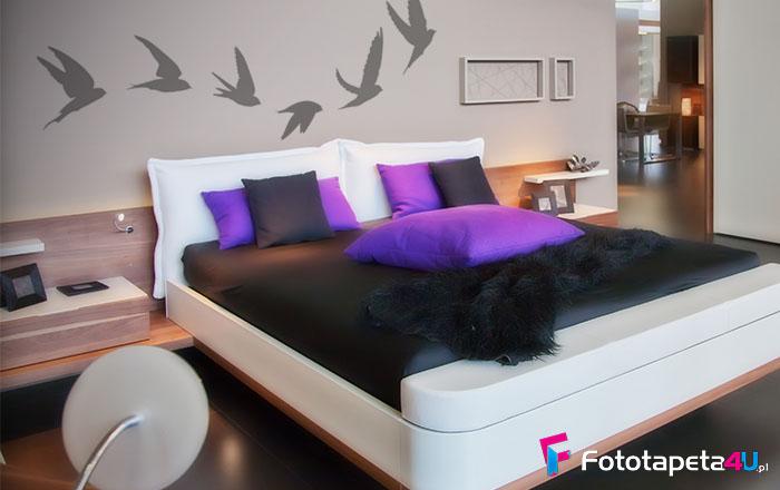 Fototapeta Vogelzug Silhouette