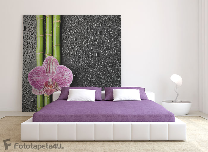 Fototapeta Spa background orchid