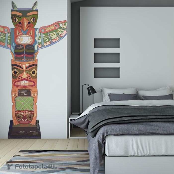 Fototapeta Totem Amérindien