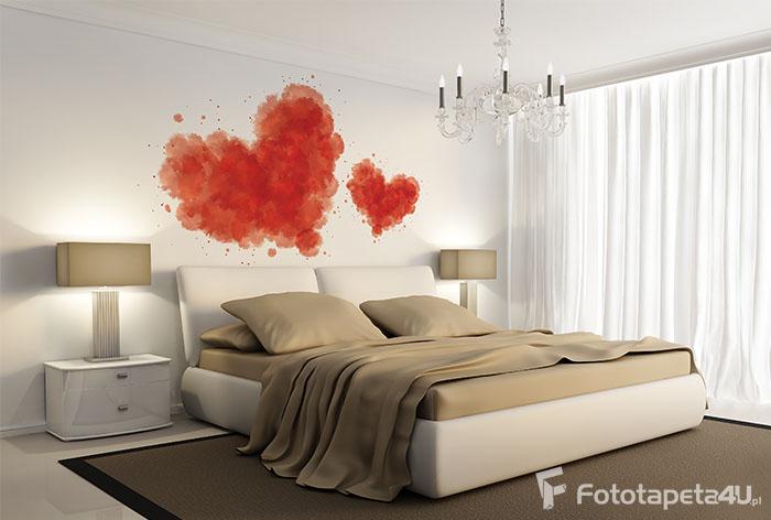 Fototapeta heart with blood