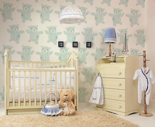 fototapeta do pokoju niemowlaka